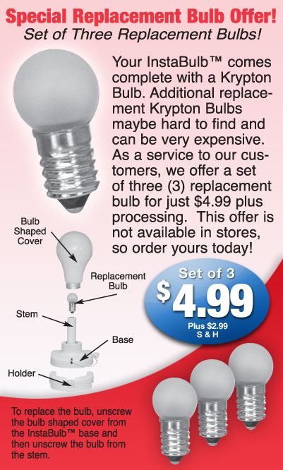 Get Replacement Bulbs!